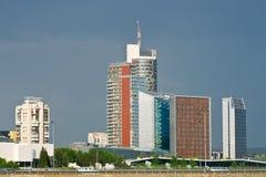维尔纽斯市视图 免版税库存图片
