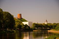 维尔纽斯立陶宛的绿色首都 库存照片