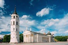 维尔纽斯立陶宛 St Stanislaus St Vlad大教堂大教堂  免版税库存照片
