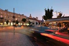 维尔纽斯,立陶宛老镇  图库摄影