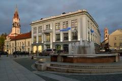 维尔纽斯,立陶宛老镇  库存照片