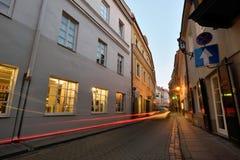 维尔纽斯,立陶宛老镇  库存图片