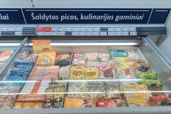 维尔纽斯,立陶宛- 2016年11月10日:最大值商店购物中心在立陶宛 其中一家最普遍的商店在立陶宛 免版税库存照片