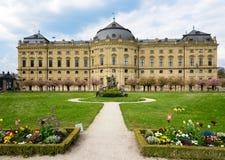 维尔茨堡,德国- 5月1 :维尔茨堡住所在维尔茨堡,德国可以01日2016年 维尔茨堡住所是 免版税库存照片
