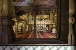 巴尔萨纳教会绘画  库存照片