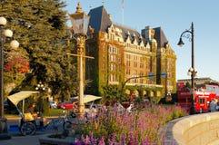 费尔蒙特女皇旅馆 免版税库存图片
