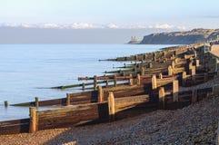 黑尔讷海湾,肯特,英国 库存照片