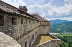 巴尔迪城堡。伊米莉亚罗马甘。意大利。 库存图片