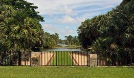 费尔柴尔德热带植物园迈阿密,佛罗里达 库存图片