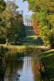 贝尔维德雷宫在华沙(波兰) 免版税库存照片