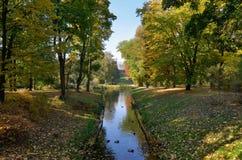 贝尔维德雷宫在华沙(波兰) 库存图片