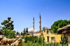 尖塔在土耳其 免版税图库摄影