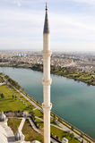尖塔本质河 库存照片
