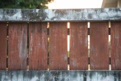 尖桩篱栅 免版税库存照片