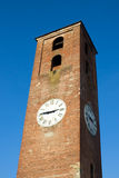 尖沙咀钟楼在卢卡,意大利 库存照片