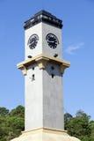 尖沙咀钟楼在芭达亚 免版税库存图片