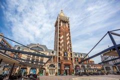 尖沙咀钟楼广场正方形位于巴统,阿扎尔地区 免版税库存图片