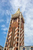 尖沙咀钟楼广场正方形位于巴统,阿扎尔地区 图库摄影