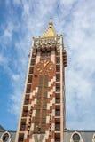 尖沙咀钟楼广场正方形位于巴统,阿扎尔地区 免版税图库摄影
