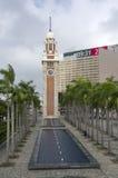 尖沙咀钟楼香港 库存照片