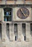 尖沙咀钟楼细节SEGESVAR - SIGHISOARA -特兰西瓦尼亚 免版税库存照片