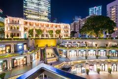 尖沙咀,香港- 2018年1月10日:1881遗产, 免版税库存照片