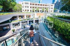 尖沙咀,香港- 2018年1月10日:1881遗产, 免版税库存图片