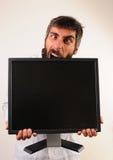 尖酸的屏幕 库存图片