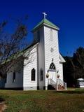 尖顶, NC :历史的1804马莎的教堂 免版税库存照片