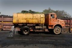 尘土的水 库存图片