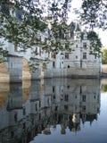 尚翁索城堡在法国的中心 免版税库存照片
