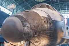 尚蒂伊美国, VA - 9月, 26日:发现号太空梭 库存照片