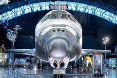 尚蒂伊VA - 2016年4月4日:在Udv的发现号太空梭 免版税图库摄影
