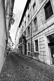 尚贝里法国街道 库存照片