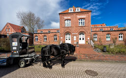 尤伊斯特,德国 免版税库存图片