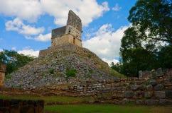 尤卡坦半岛的,墨西哥Labna考古学站点 免版税图库摄影