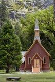 尤塞米提谷教堂,优胜美地国家公园,加利福尼亚,美国- 2016年5月16日 图库摄影