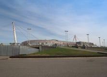 尤文图斯队体育场在都灵 免版税库存照片