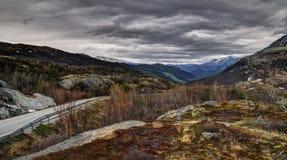 尤通黑门山脉国家公园,挪威 免版税图库摄影