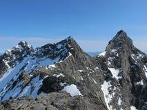 尤通黑门山脉,挪威 图库摄影