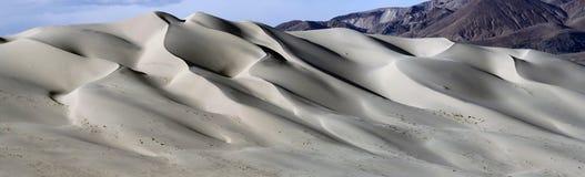尤里卡沙丘全景#1 免版税库存图片