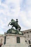 尤金王子雕象 库存图片