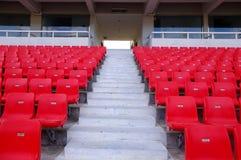 就座体育场 免版税库存图片