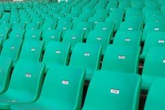 就座体育场 库存图片