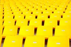 就座体育场 免版税库存照片