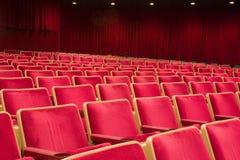 就座剧院 免版税库存图片