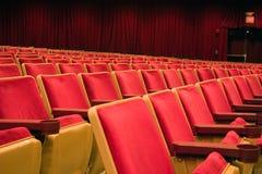 就座剧院 免版税图库摄影