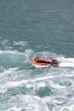 尼亚加拉喷气机小船游览 库存照片