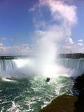 尼亚加拉大瀑布,加拿大边 免版税库存图片