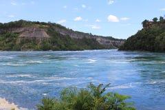 尼亚加拉峡谷足迹 库存照片